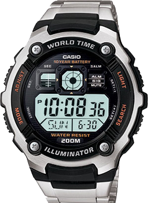 Мужские часы CASIO Collection AE-2000WD-1A