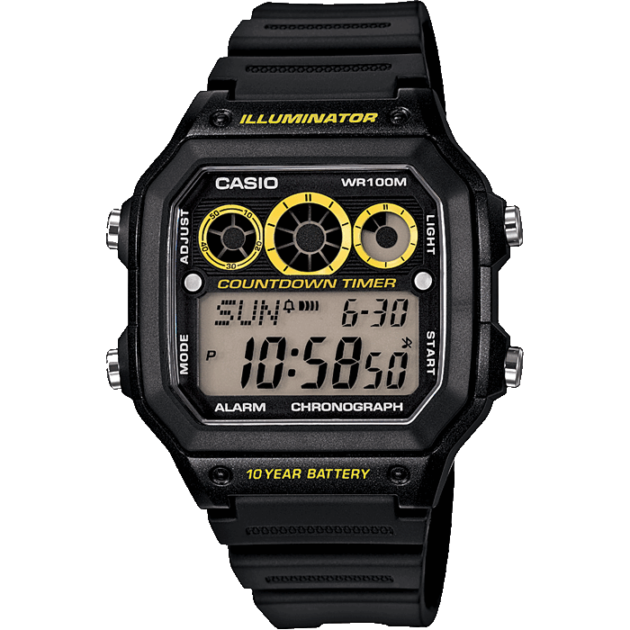 Мужские часы CASIO Collection AE-1300WH-1A