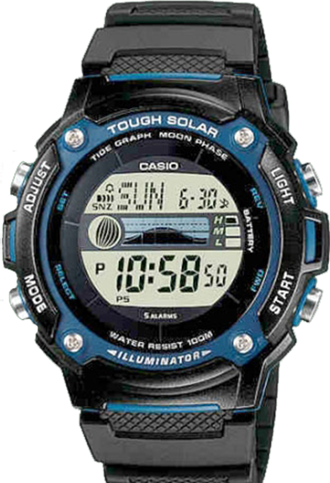 Мужские часы CASIO Collection W-S210H-1A