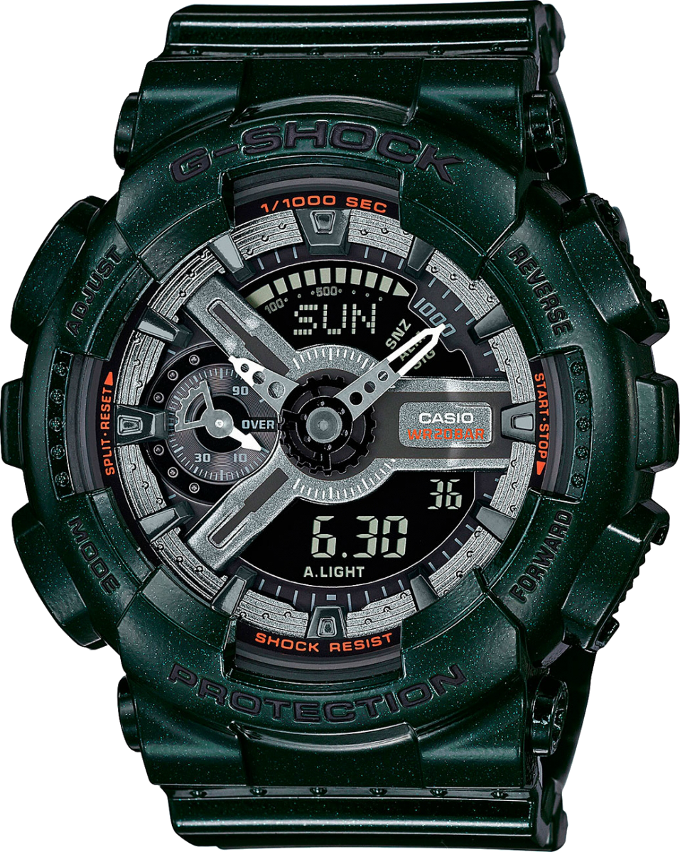 Женские часы CASIO G-SHOCK GMA-S110MC-3A